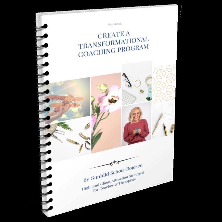 Create a Transformational Coaching Program Workbook